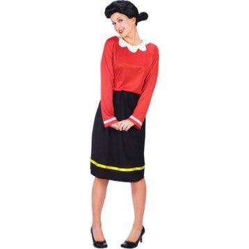 Olive Oyl costume for women