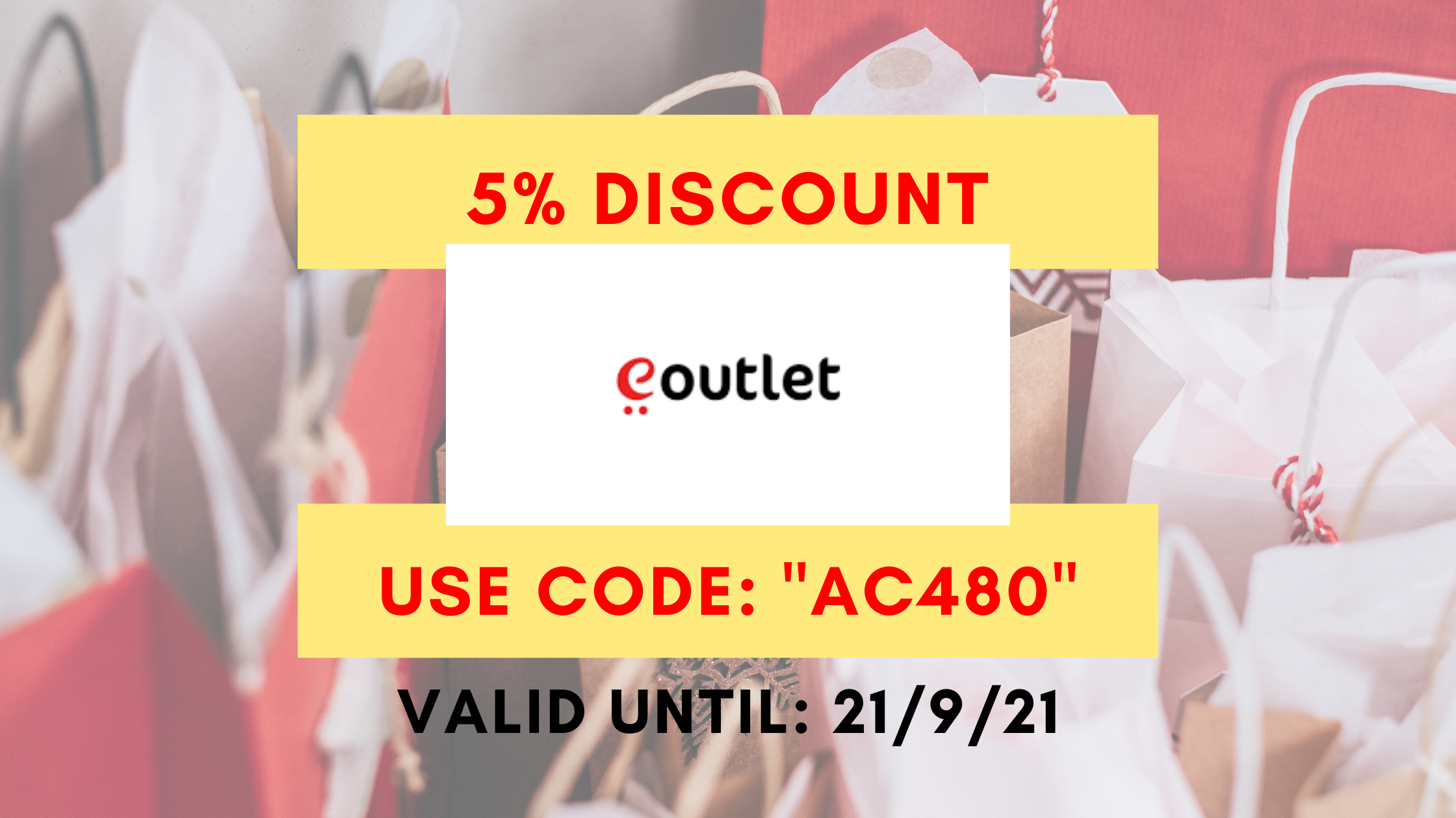 eoutlet coupon code